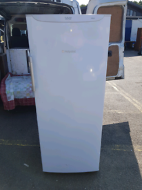 Tall upright Hotpoint frost free freezer, delivery available