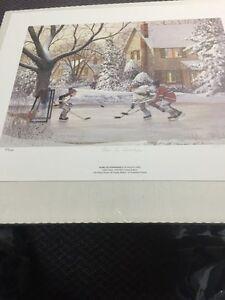 Hockey print lep