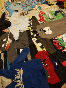 Baby/toddler boy clothes NB to size 12 & 18 mo. 1/2 Brand New