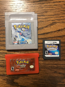 Three Pokemon Games