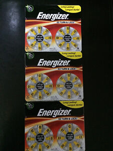 Hearing Aid Batteries Size 10 – 3 Packages - NEW