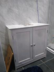 Maine Under Sink Unit - WHITE USED