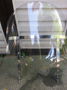 Removable windshield for a yamaha vstar classic 1300