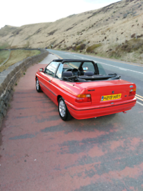 Ford escort cabriolet Mk5 EFi