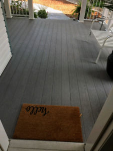 Trex decking used 320 square feet