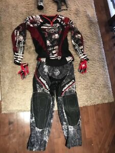 Spyder Pilot and paintball outfit *FULL SET* 250 OBO