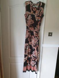Ladies Maxi Dress Wallis 12