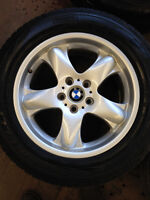 BMW X5 WINTER SNOW TIRE PACKAGE GREAT SET