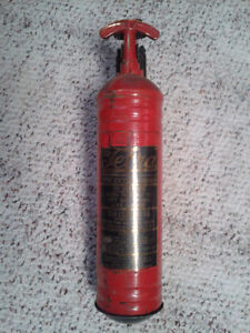 Vintage AntiqueTetra Fire Extinguisher for Car or Truck