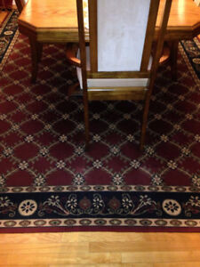 Large beautiful area rug.In very good clean condition