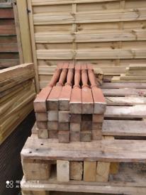 Newell posts for decking/garden