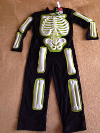 Skeleton outfit 7-8years