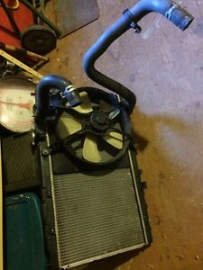 Integra radiator and fan