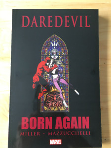 Daredevil: Born Again comic book/trade paperback