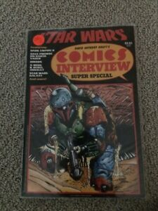 Star Wars Comic Interview Super Special Boba Fett cover