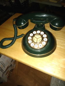 Classic style push button style phone