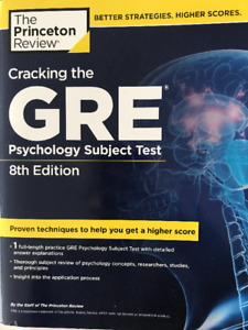 GRE PSYCHOLOGY SUBJECT TEST - PRINCETON REVIEW