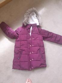 Girls winter coat John Lewis 8yrs