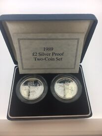 Royal mint silver coins