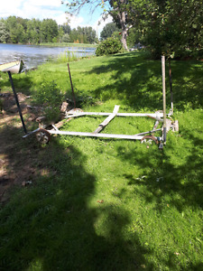 Boat rail and Cradle