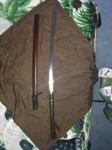"Authentic Custom ""Dragonfly"" Full-tang Katana Strathcona County Edmonton Area image 4"