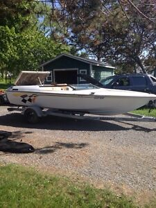 20' speed boat and trailer