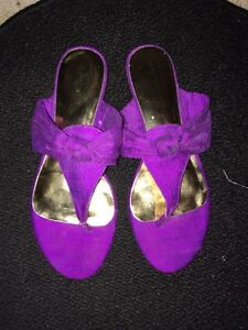 Magenta Purple Nine West Sandals Peterborough Peterborough Area image 1