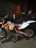 KTM 150XC LOTS OF EXTRAS