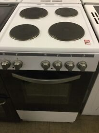 White single oven with grill,