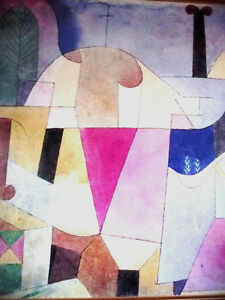 """Lithograph by Paul Klee """"Black Columns In A Landscape"""" 1919 Stratford Kitchener Area image 10"""