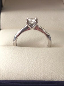 .26 carat Canadian Diamond White Gold Engagement Ring Comox / Courtenay / Cumberland Comox Valley Area image 1