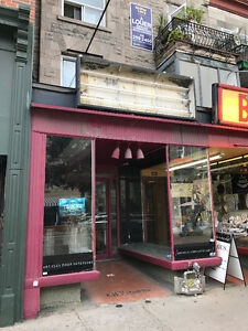 Plateau-Mont Royal Retail Opportunity!