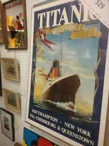 Movie posters,  titanic posters, sports memorabilia & 600 booths Kitchener / Waterloo Kitchener Area image 5
