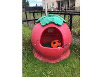 Happy tomato playhouse