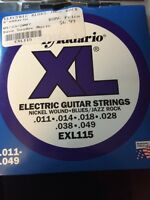 BRAND NEW electric guitar strings