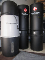 Central Vacuum Systems - Hoovers, Frigidaire - Handyman LOT- AS
