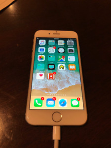 IPhone 6 Gold 16G Fido in Great Condition