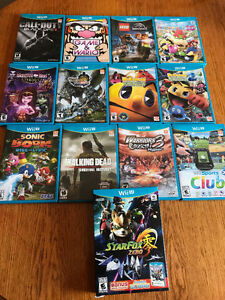 13 Nintendo Wii U Games for sale