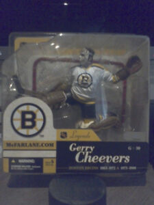 Mcfarlane NHL Boston Bruins Gerry Cheevers Hockey Figure