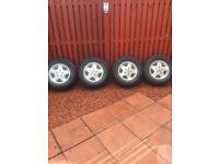 Alloy wheels for van