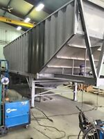 Sandblasting and Painting Industrial equpiment/Trailers