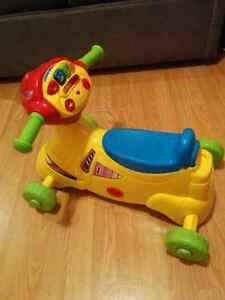 Baby vtech ride on