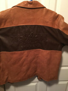 Limited Edition 2004 Hockey Cup Autographed Leather Jacket