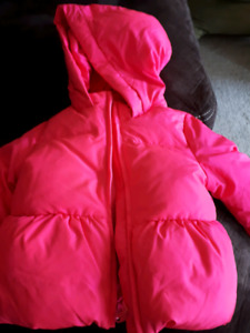 2-3T girl down jacket (new condition)