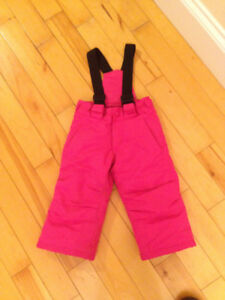 snow pants - 2T girl