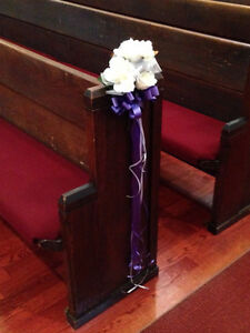 Wedding Pew Bows
