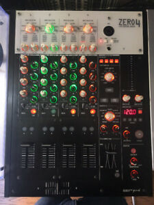 Korg Zero 4 Traktor Certified 4ch DJ mixer - lots of fx and feat