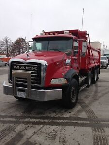 2008 Mack Dump truck, Automatic tranny, $110,000