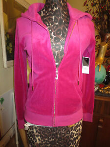 Juicy Couture J Bling Original Velour Hoodie Jacket