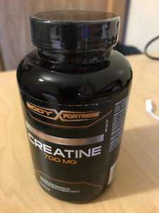 Creatine 120 caps sealed bottle